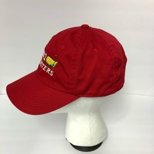 06b56165b2f Masters Accessories - Masters 2012 Red Caddy Hat